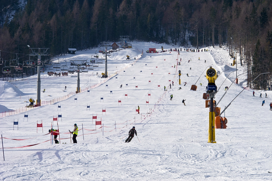 Alpine Skiing Kranjska Gora Explore Slovenia