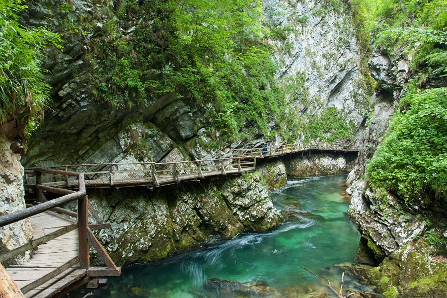 Natural Sights Vintgar Gorge Bled Explore Slovenia