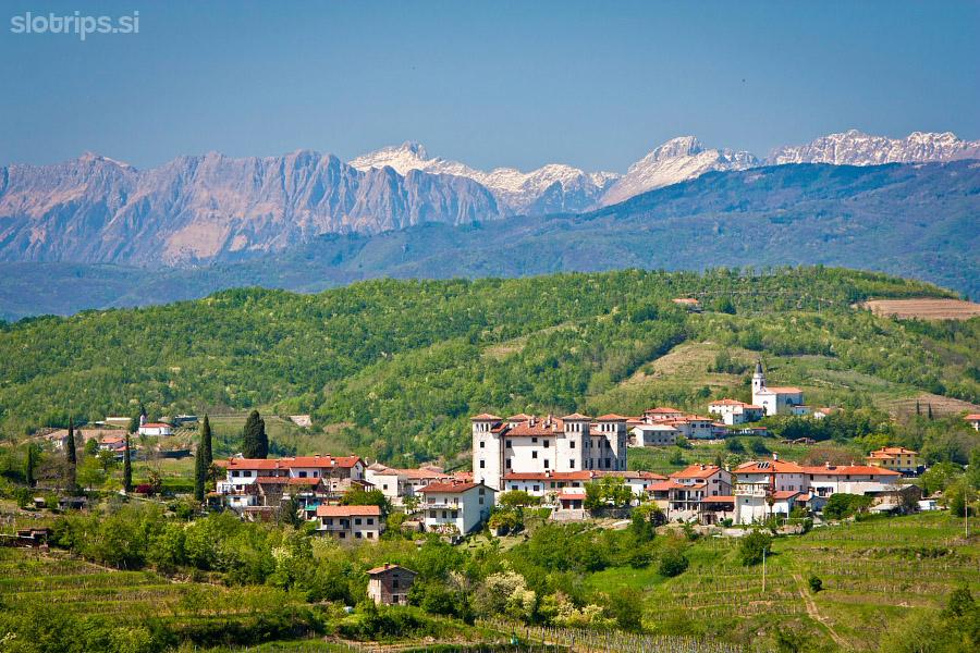 Mountain biking: Goriška Brda - Explore Slovenia