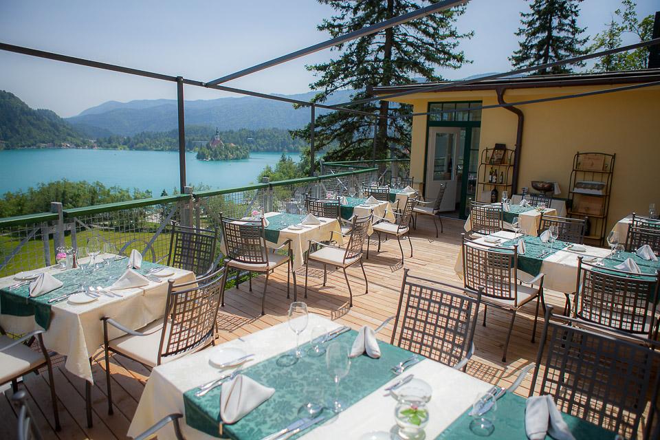 Hotel Vila Bled Restaurant Menu