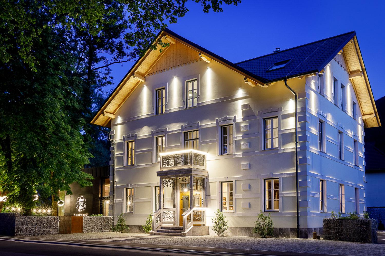 butični hotel sunrose 7 v bohinju, slovenija