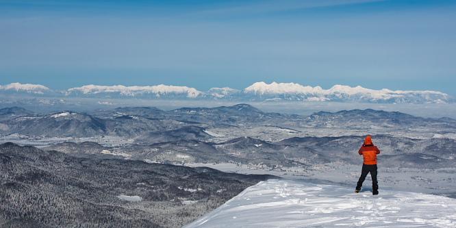 1 - Snežnik (from Sviščaki)