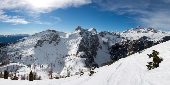 3 - Debeli vrh (nad Pokljuko)