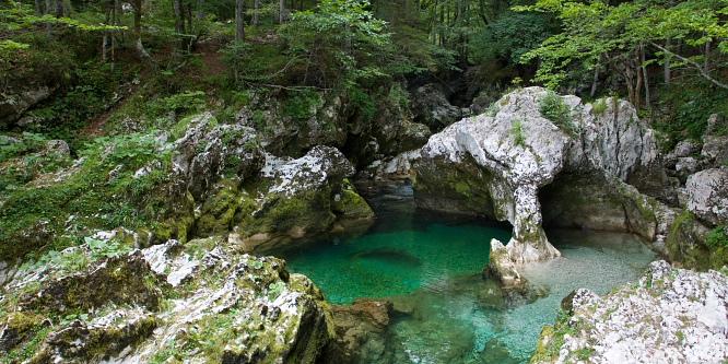 1 - Korita Mostnice in dolina Voje