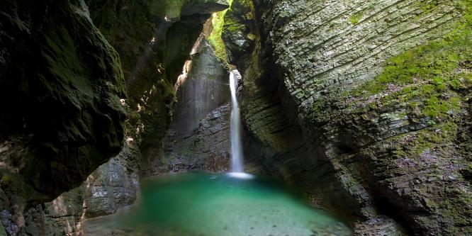 1 - Kozjak Waterfall