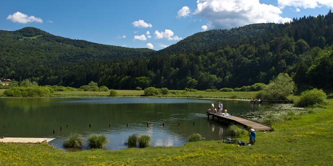 2 - Krim (od Podpeškega jezera)