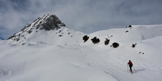 1 - Debeli vrh (nad Pokljuko)