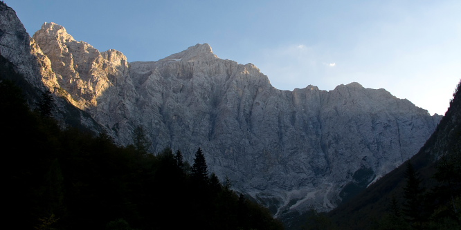 6 - Triglav – from Vrata Valley (across Plemenice and Čez Prag)
