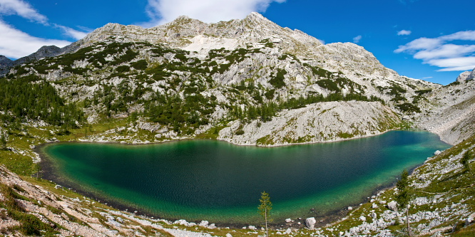 5 - Kanjavec (from Lake Bohinj)