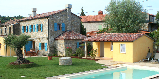 3 - Chalet with pool in Slovenian Istria