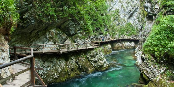 3 - Vintgar Gorge Bled