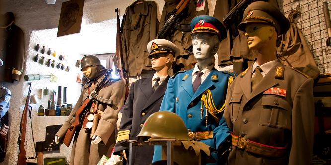 3 - Lokev na Krasu - vojaški muzej in pršut