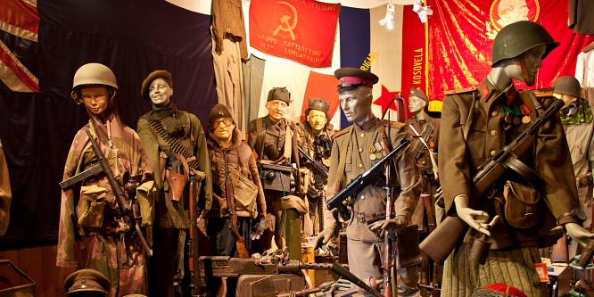 4 - Lokev na Krasu - vojaški muzej in pršut