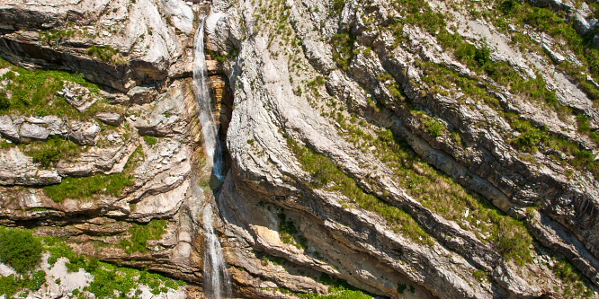 2 - Predelica waterfalls