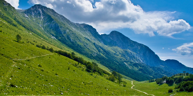 3 - Okoli Polovnika - planini Zaprikraj in Golobar