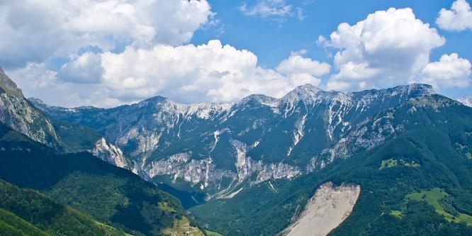 4 - Alpine meadows beneath Mt. Krn