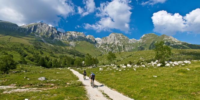 1 - Alpine meadows beneath Mt. Krn