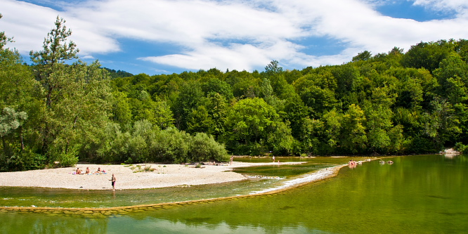 4 - Along Kolpa river – the southernmost point of Slovenia