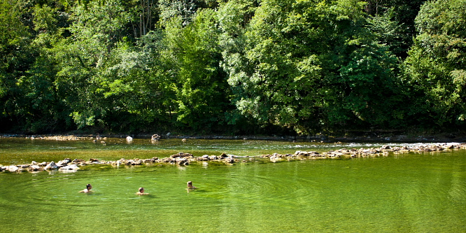 2 - Along Kolpa river – the southernmost point of Slovenia
