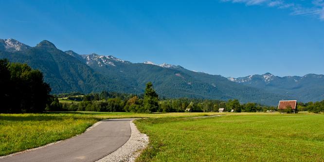 1 - Bohinj cycling path