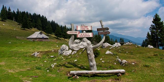 2 - Velika planina (iz Rakovih ravni)