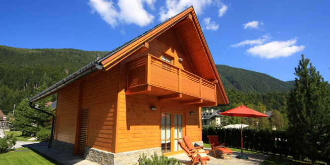 1 - Kronau Chalet Resort, Kranjska Gora