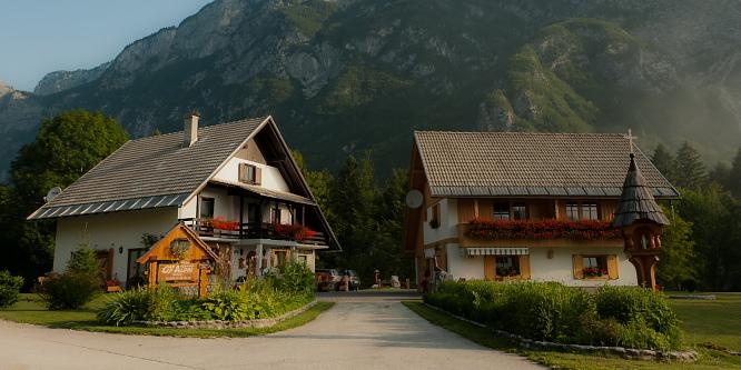 1 - Apartmaji Alpik Bohinj