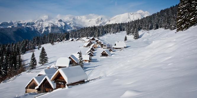 2 - Pokljuške planine - Uskovnica in Zajamniki