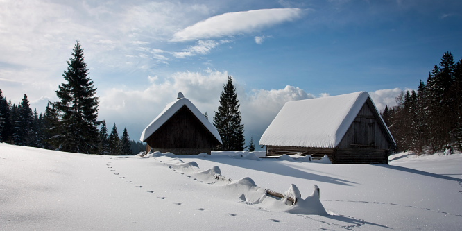 4 - Pokljuške planine - Uskovnica in Zajamniki