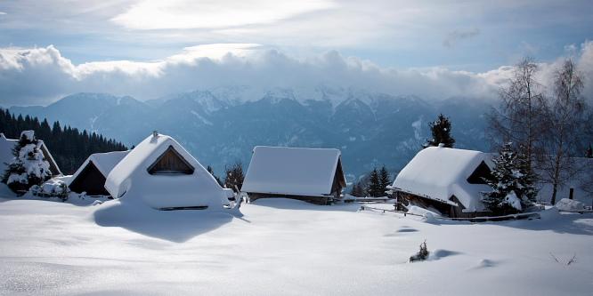 7 - Pokljuške planine - Uskovnica in Zajamniki