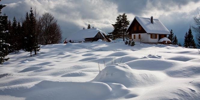 6 - Pokljuške planine - Uskovnica in Zajamniki