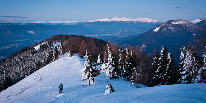1 - Kriška gora and Tolsti vrh