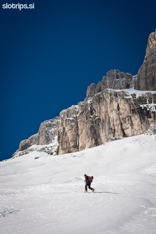 skrbina prednje spranje skiing