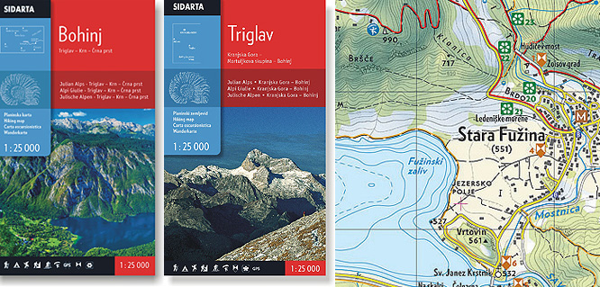 slovenia hiking maps