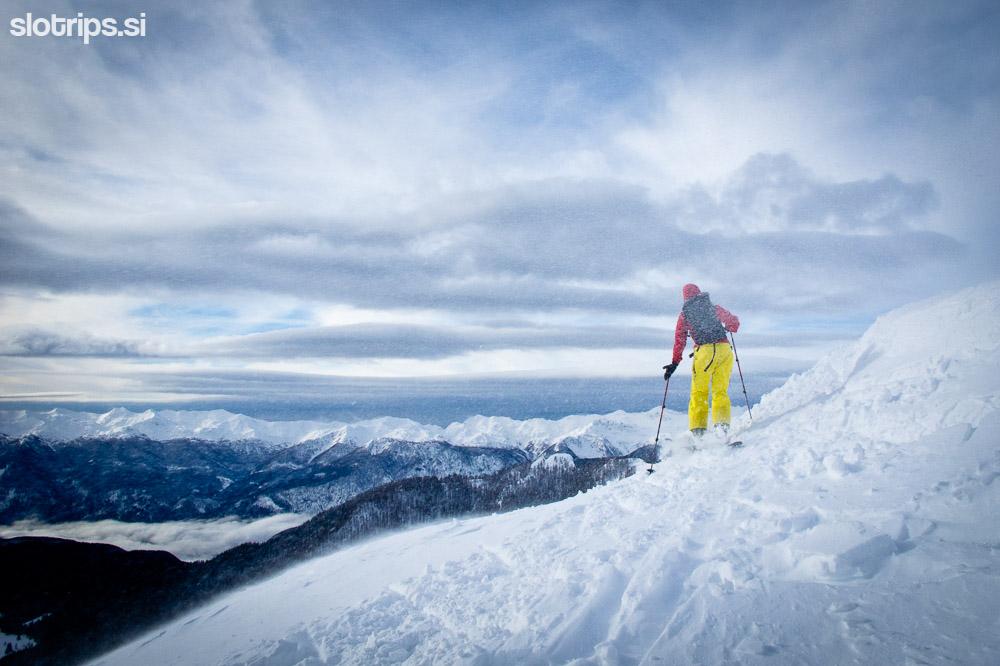 skiing slovenia