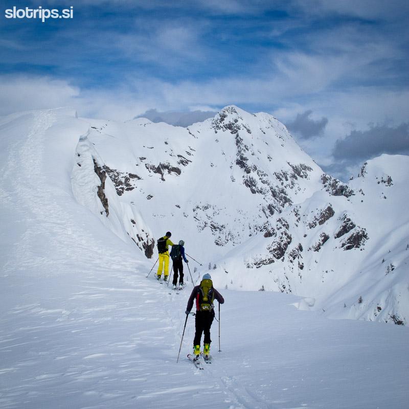 skiing slovenia alps