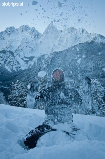 skiing slovenia kranjska gora