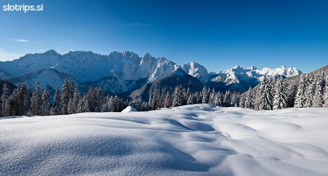 julian alps slovenia kranjska gora