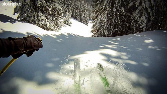 skiing vosca slovenia