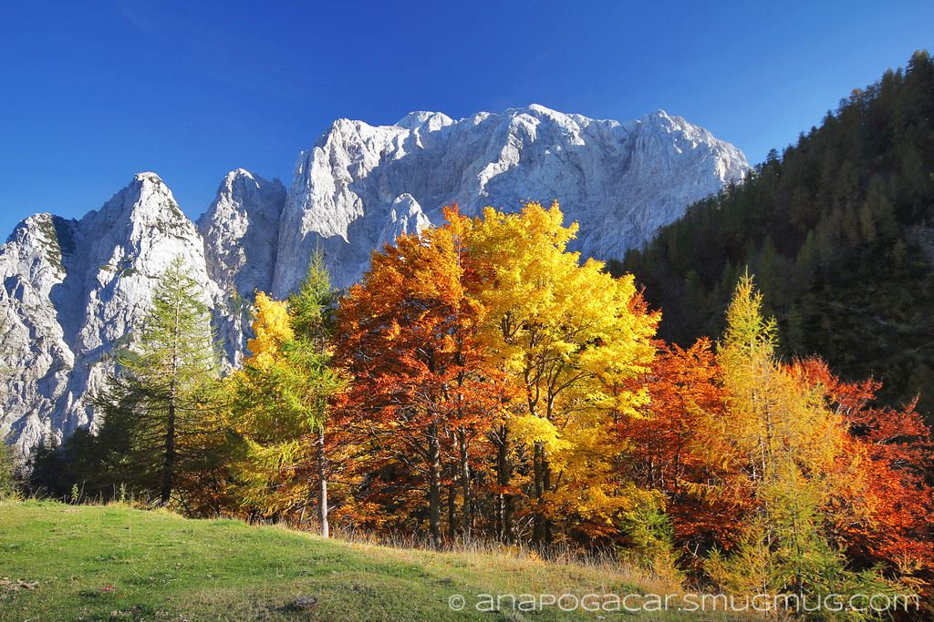 slovenian alps fall