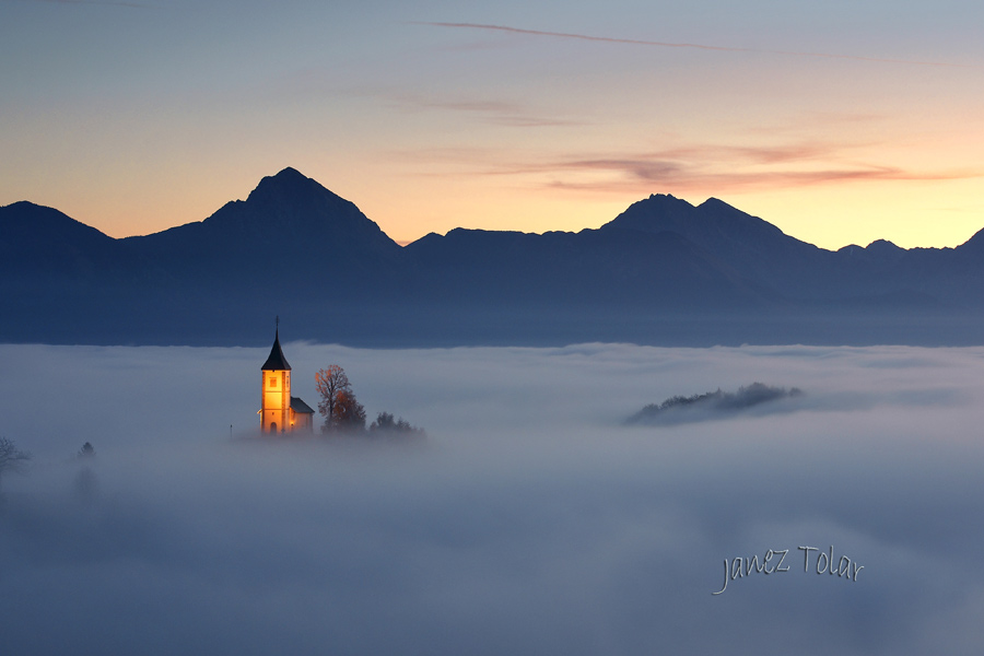 jamnik church slovenia
