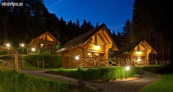 slovenia pohorje wooden chalets rusevec