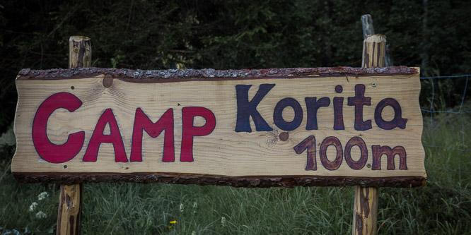 1 - Camp Korita, Soča valley