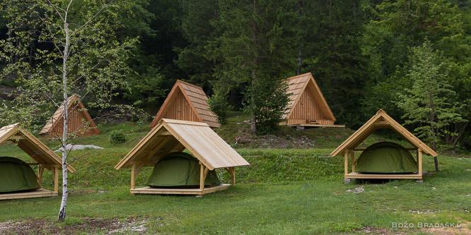 3 - Camp Korita, Soča valley