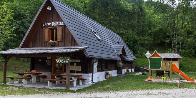 4 - Camp Korita, Soča valley