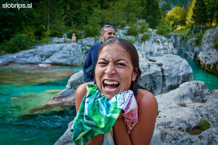 soca river swimming slovenia