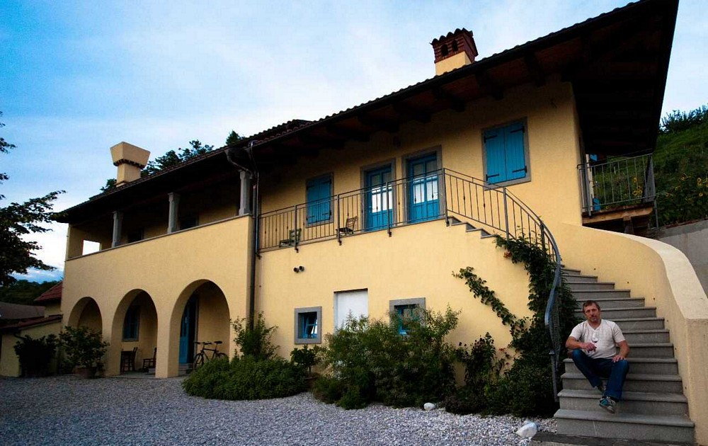 slovenia wine region goriska brda accommodation