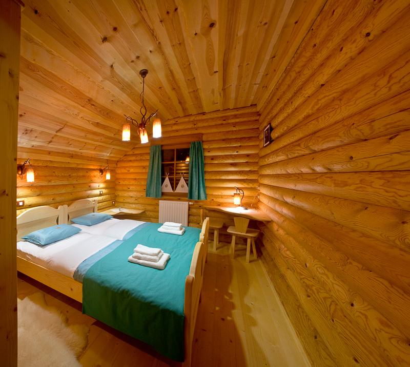 wooden chalets soca valley kobarid slovenia