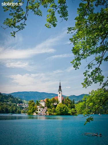 walking day trip slovenia lake bled bohinj