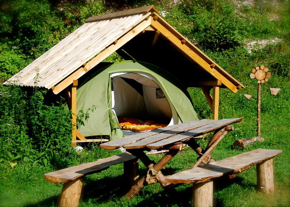 glamping kamp soca bovec slovenija adrenalincek